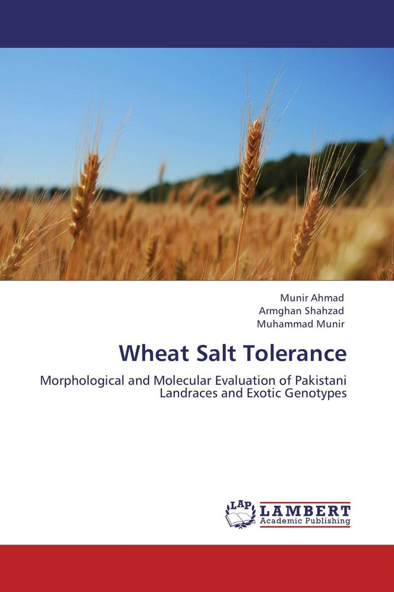 Wheat Salt Tolerance vishal r patil and j g talati wheat molecular and biochemical characterization