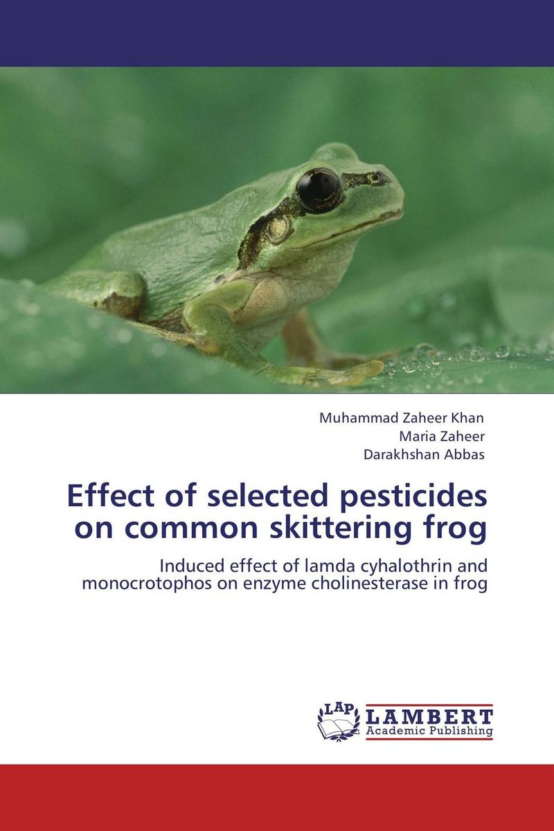Effect of selected pesticides on common skittering frog rakesh kumar khandal and sapana kaushik coal tar pitch with reduced pahs and thermosets based on it