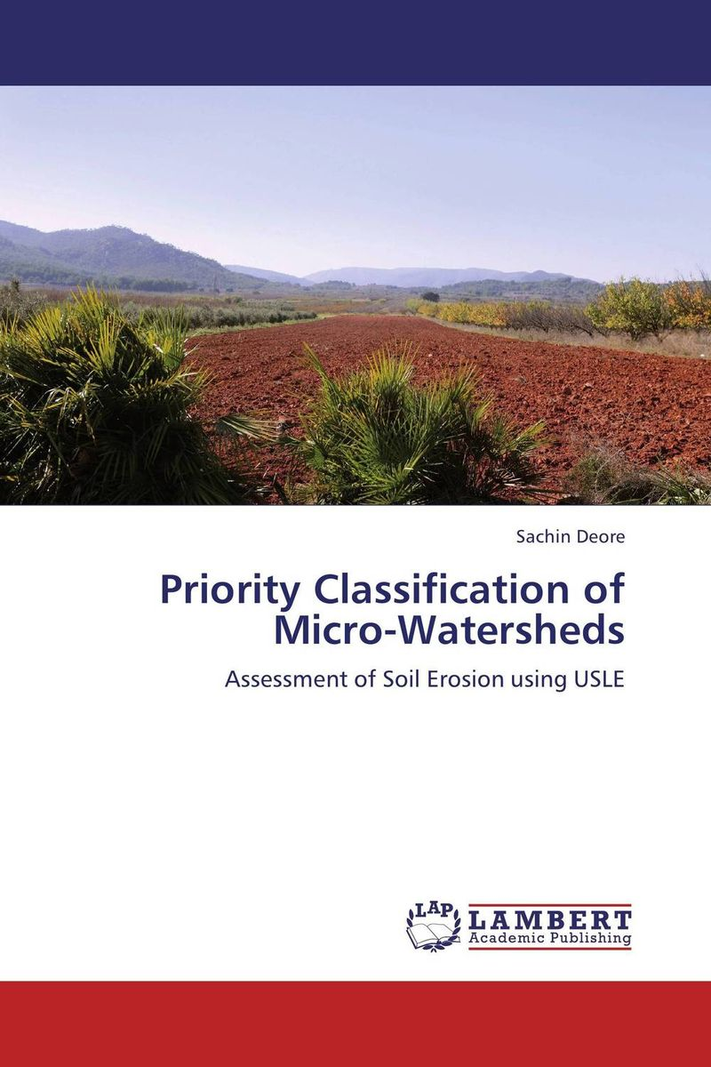 Priority Classification of Micro-Watersheds pastoralism and agriculture pennar basin india