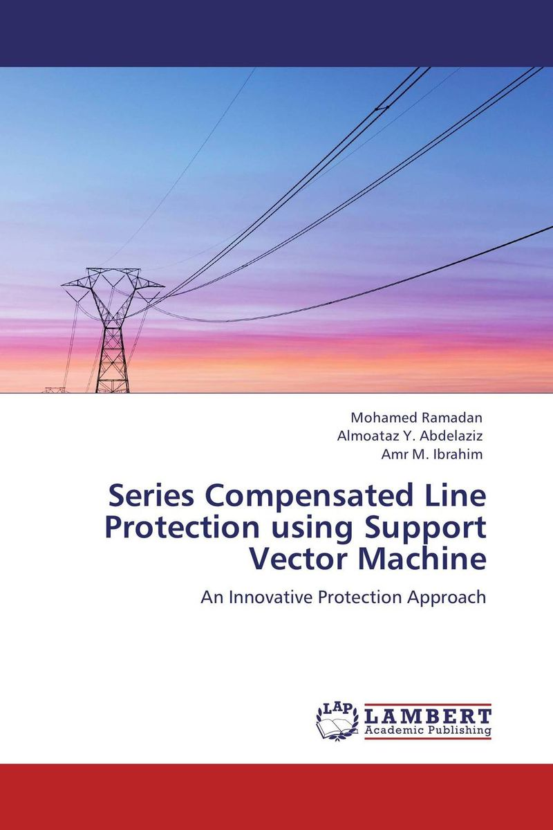 Series Compensated Line Protection using Support Vector Machine eigenvalues in uniform waveguides using transmission line equivalences