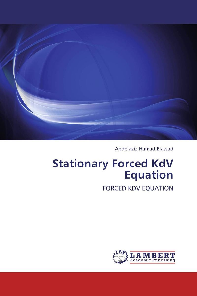 Stationary Forced KdV Equation soliton solutions