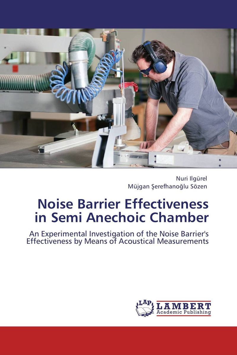 Noise Barrier Effectiveness in Semi Anechoic Chamber half ring shape of the block machine parking barrier lock