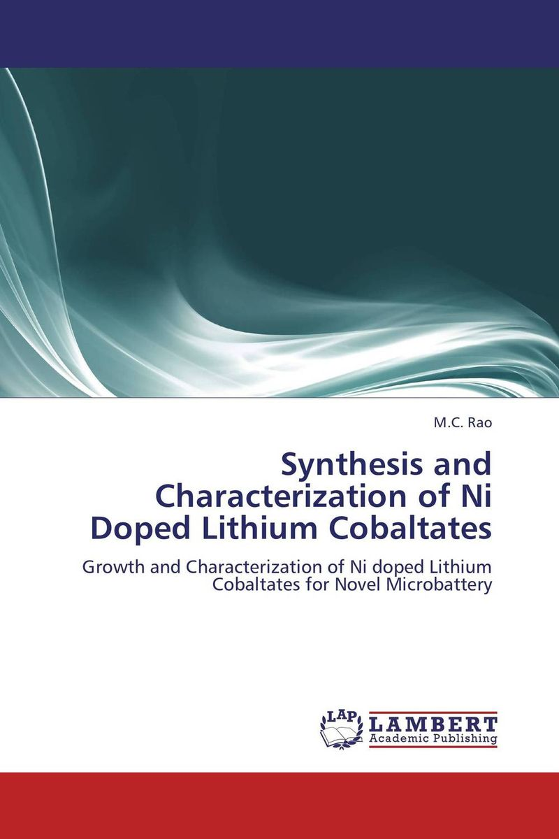 Synthesis and Characterization of Ni Doped Lithium Cobaltates study of sn doped ni zn ferrites