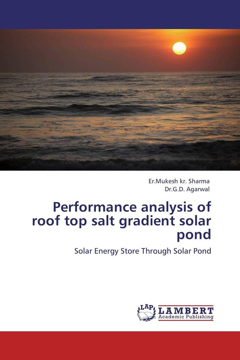 Performance analysis of roof top salt gradient solar pond rik degunther alternative energy for dummies