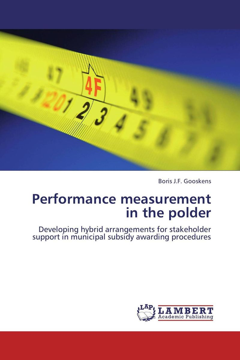 Performance measurement in the polder trends in human performance research