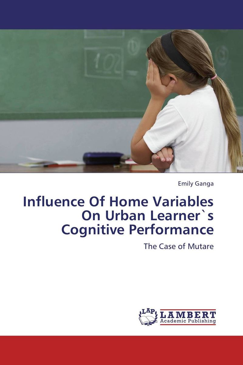 Zakazat.ru: Influence Of Home Variables On Urban Learner`s Cognitive Performance