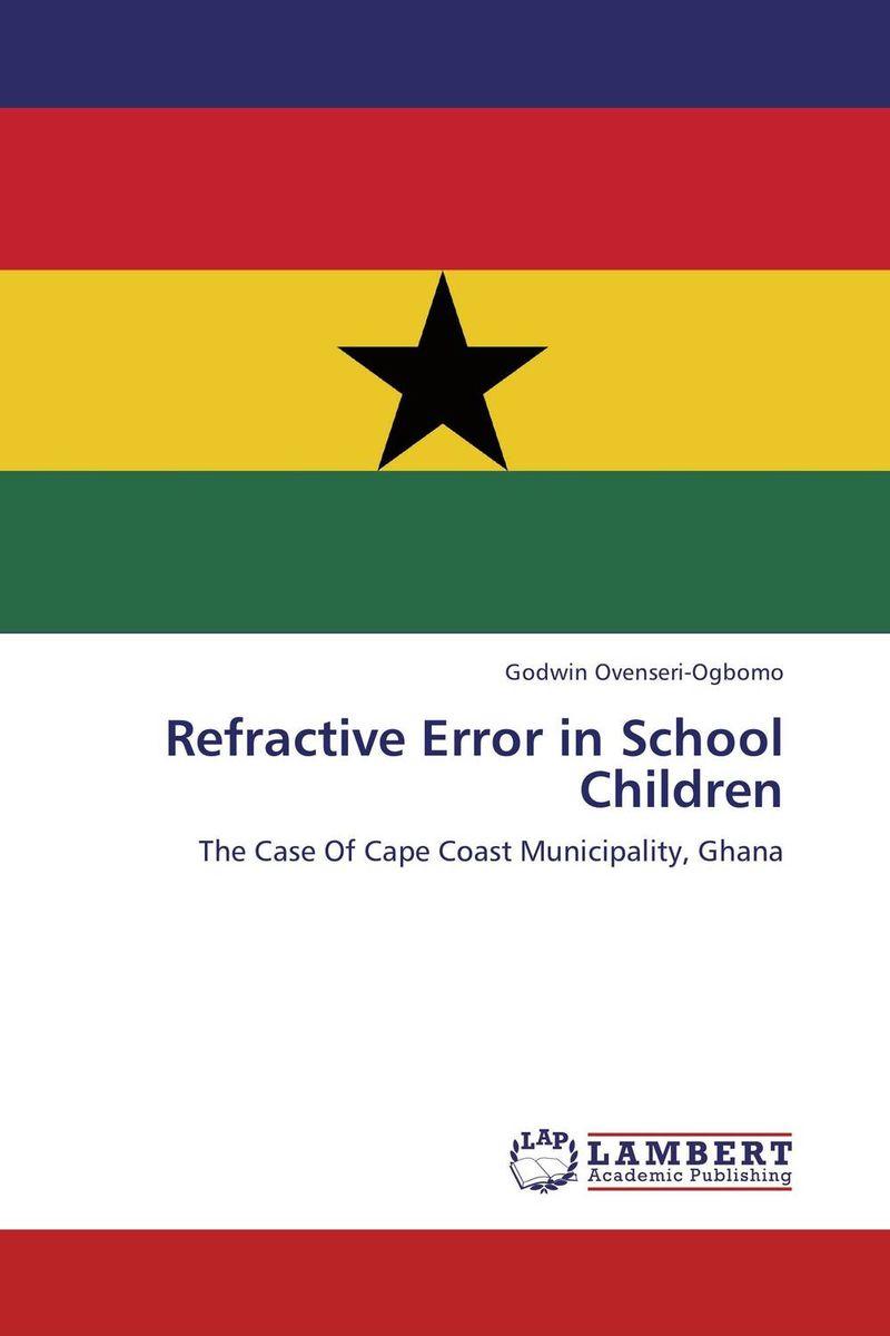 Refractive Error in School Children critical success criteria for public housing project delivery in ghana