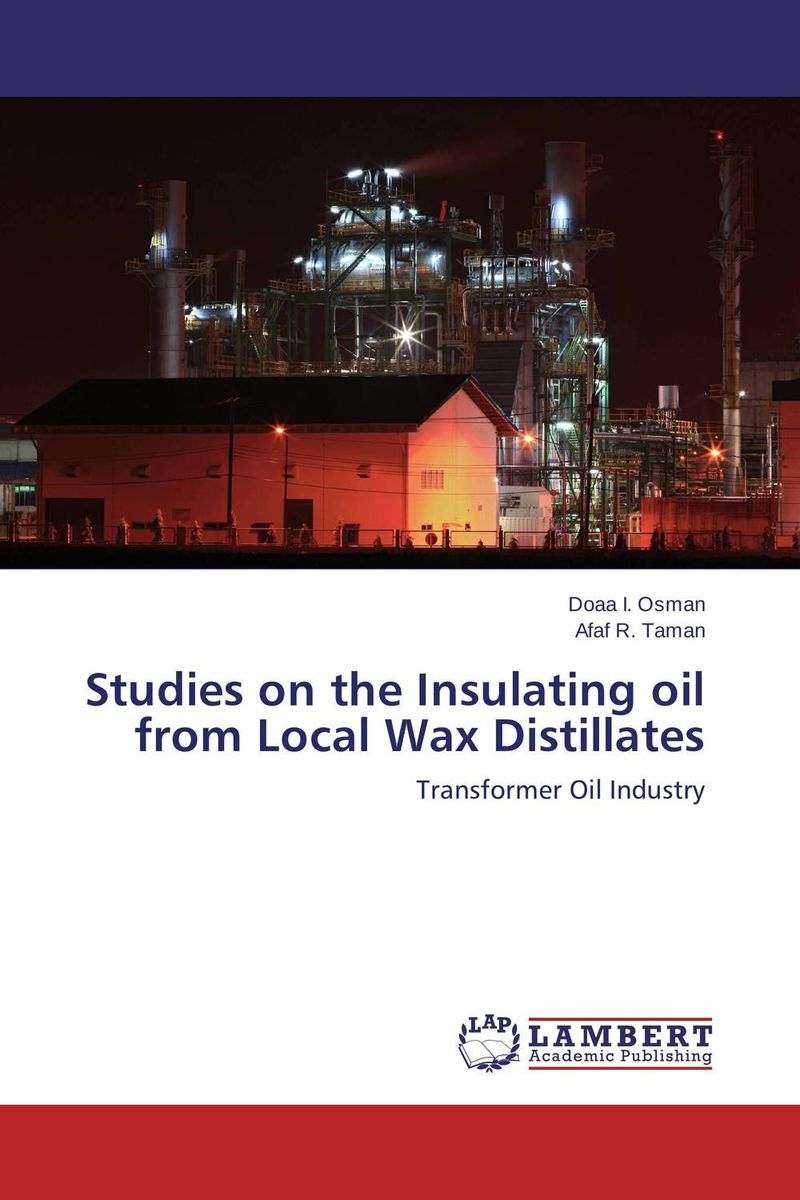 Studies on the Insulating oil from Local Wax Distillates studies on schiff bases derived from acetophenones