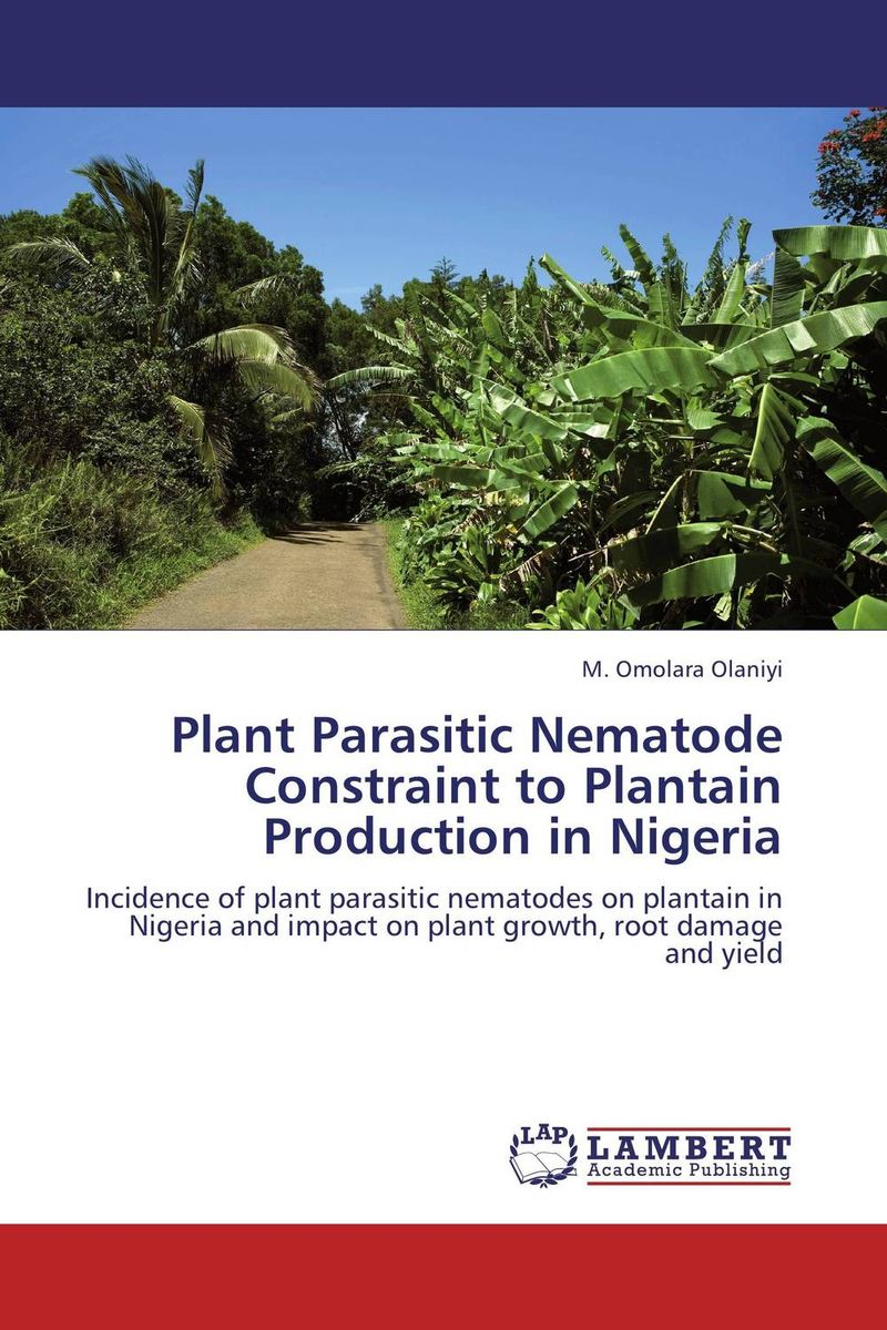 Plant Parasitic Nematode Constraint to Plantain Production in Nigeria improved expression of bacterial chia in plant by codon optimisation