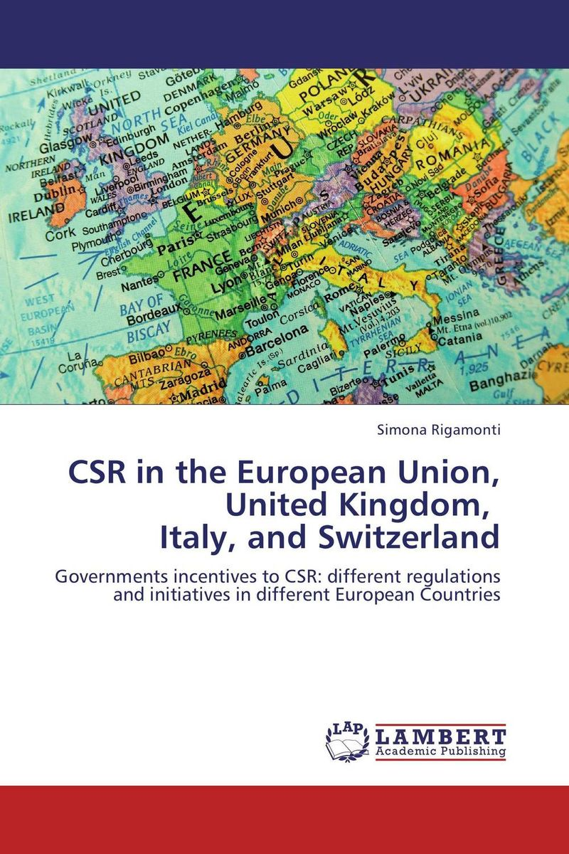 CSR in the European Union, United Kingdom, Italy, and Switzerland voluntary associations in tsarist russia – science patriotism and civil society