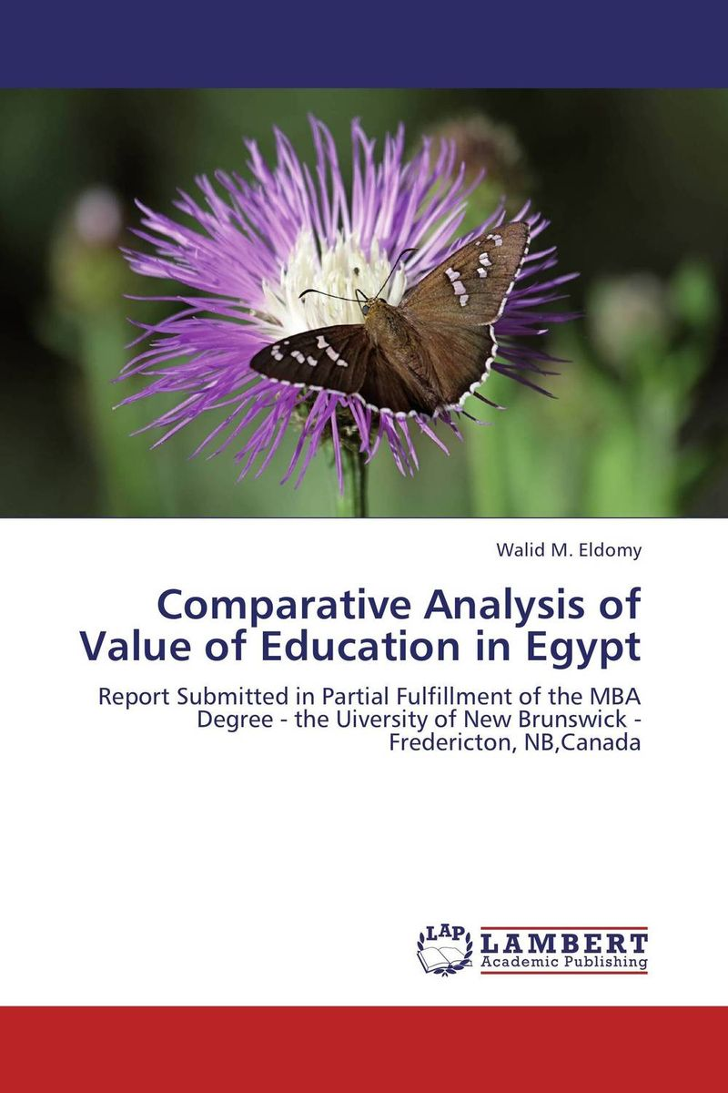 Comparative Analysis of Value of Education in Egypt religious education in comparative perspectives