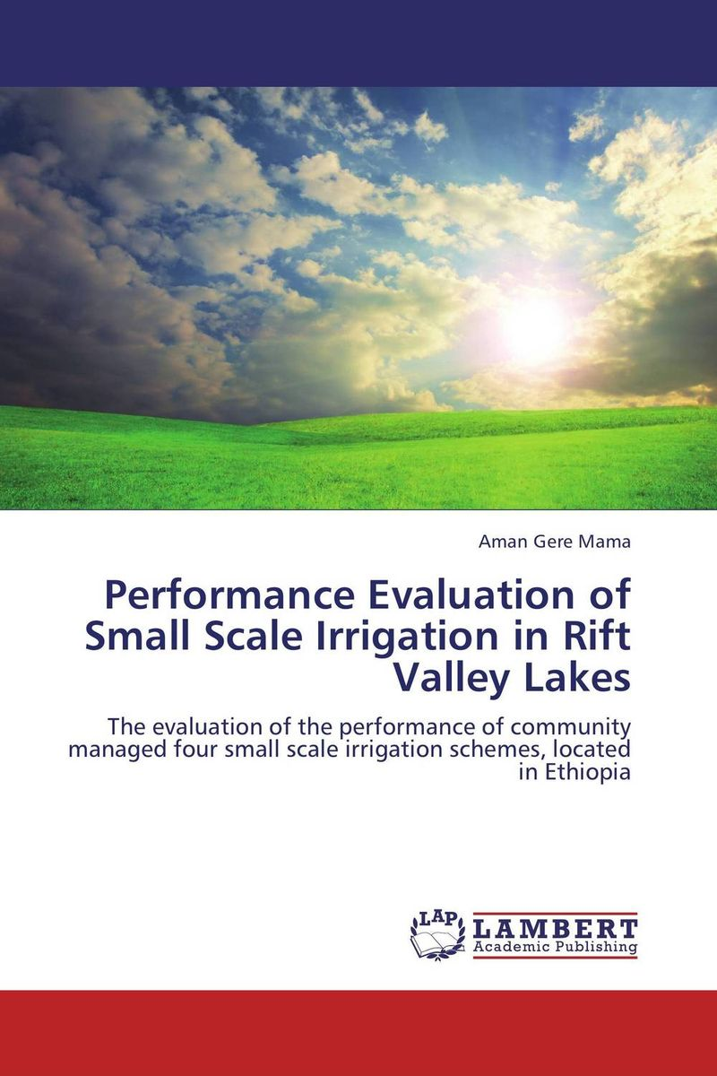 Performance Evaluation of Small Scale Irrigation in Rift Valley Lakes evaluation of aqueous solubility of hydroxamic acids by pls modelling