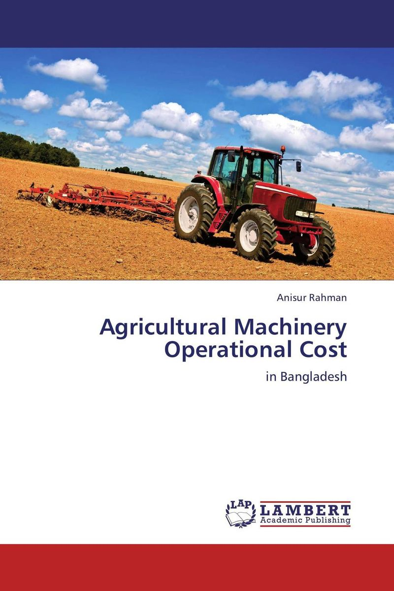 Agricultural Machinery Operational Cost crusade vol 3 the master of machines