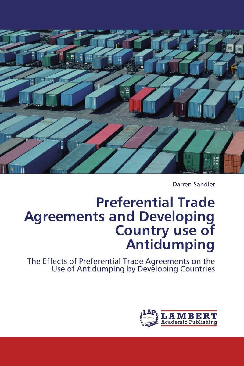 Preferential Trade Agreements and Developing Country use of Antidumping regional trade agreements