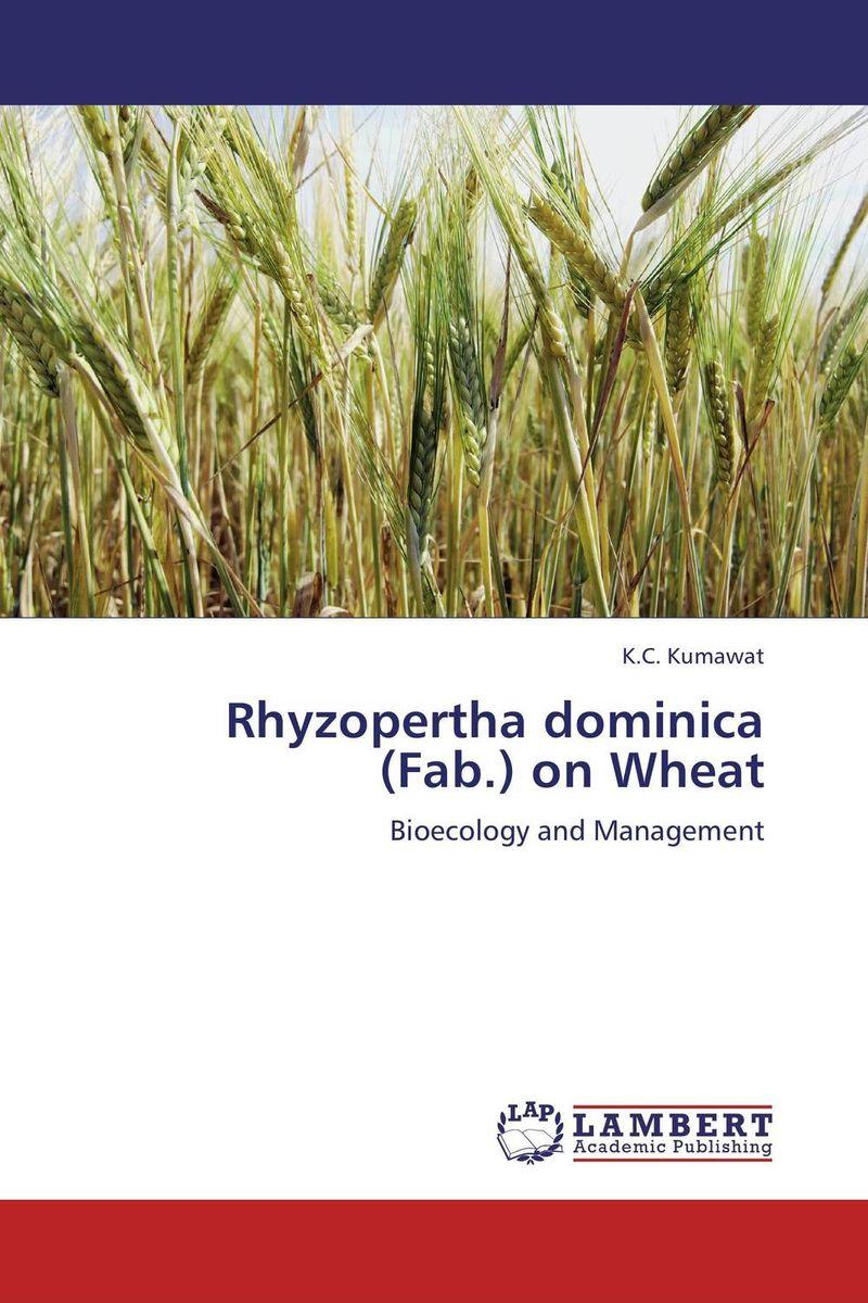 Rhyzopertha dominica (Fab.) on Wheat against the grain