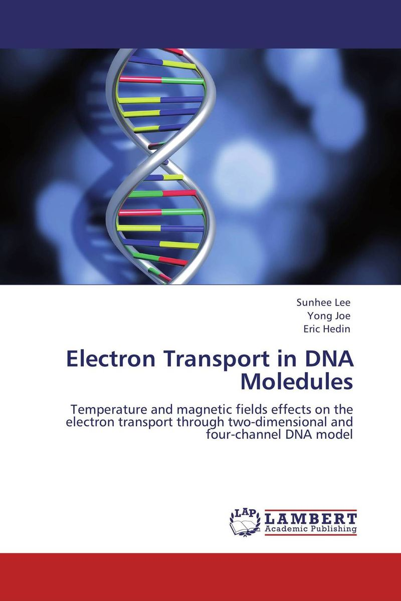 Electron Transport in DNA Moledules interplay between dna replication and repair