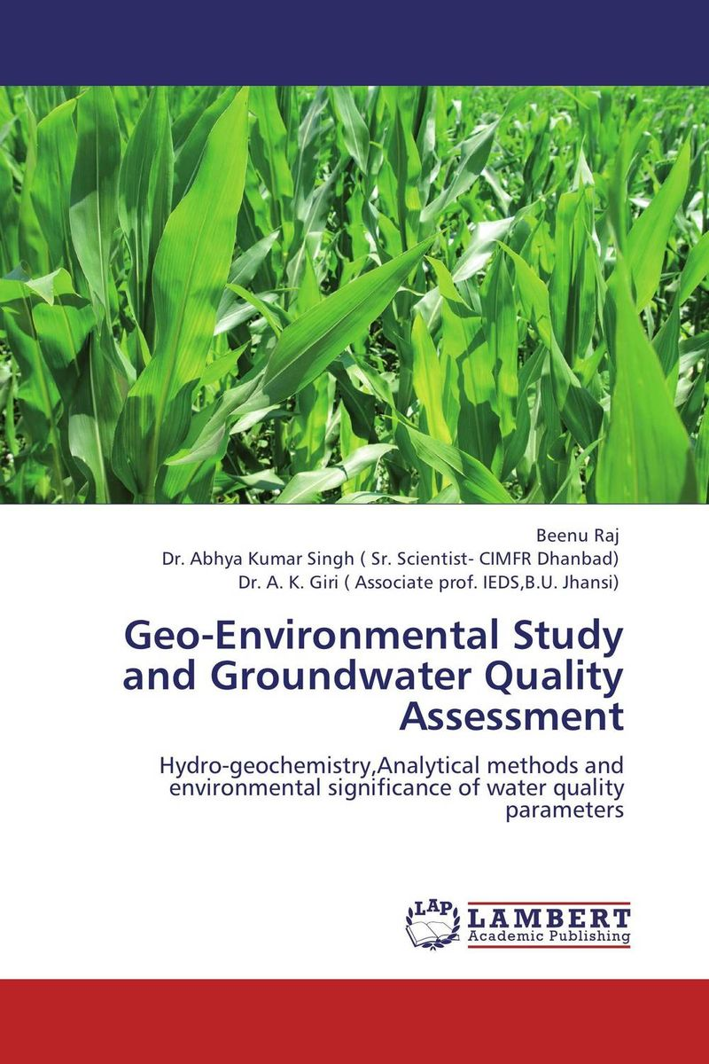 купить Geo-Environmental Study and Groundwater Quality Assessment недорого