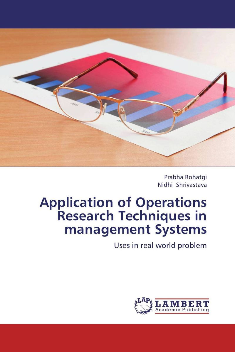 Application of Operations Research Techniques in management Systems the application of wavelets methods in stefan problem