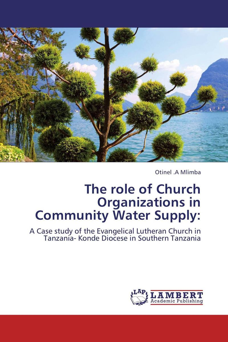 The role of Church Organizations in Community Water Supply: the organizational role of the supply chain manager