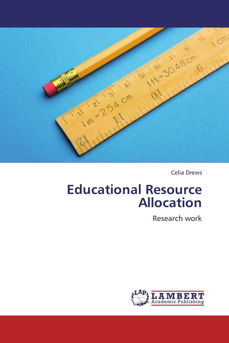 Educational Resource Allocation affair of state an