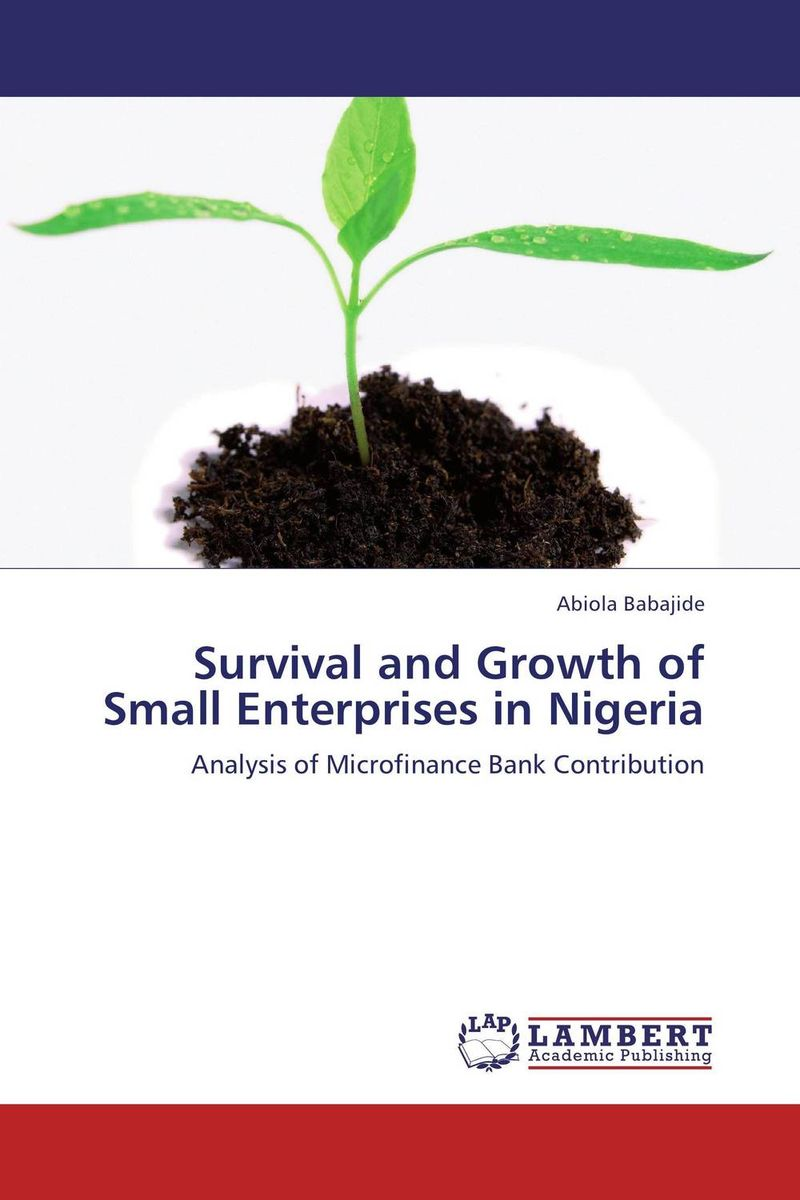 Survival and Growth of Small Enterprises in Nigeria jaynal ud din ahmed and mohd abdul rashid institutional finance for micro and small entreprises in india