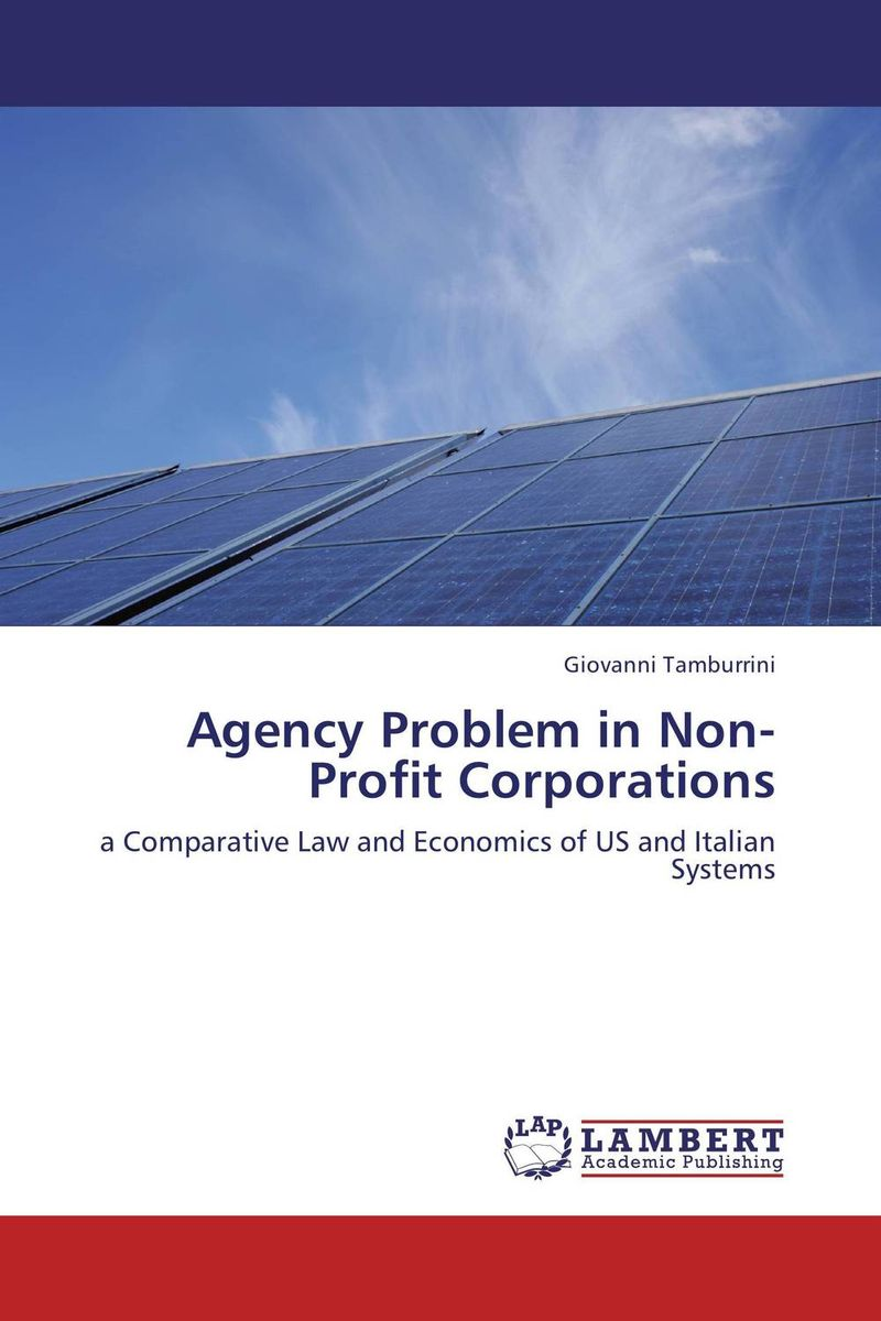 Agency Problem in Non-Profit Corporations