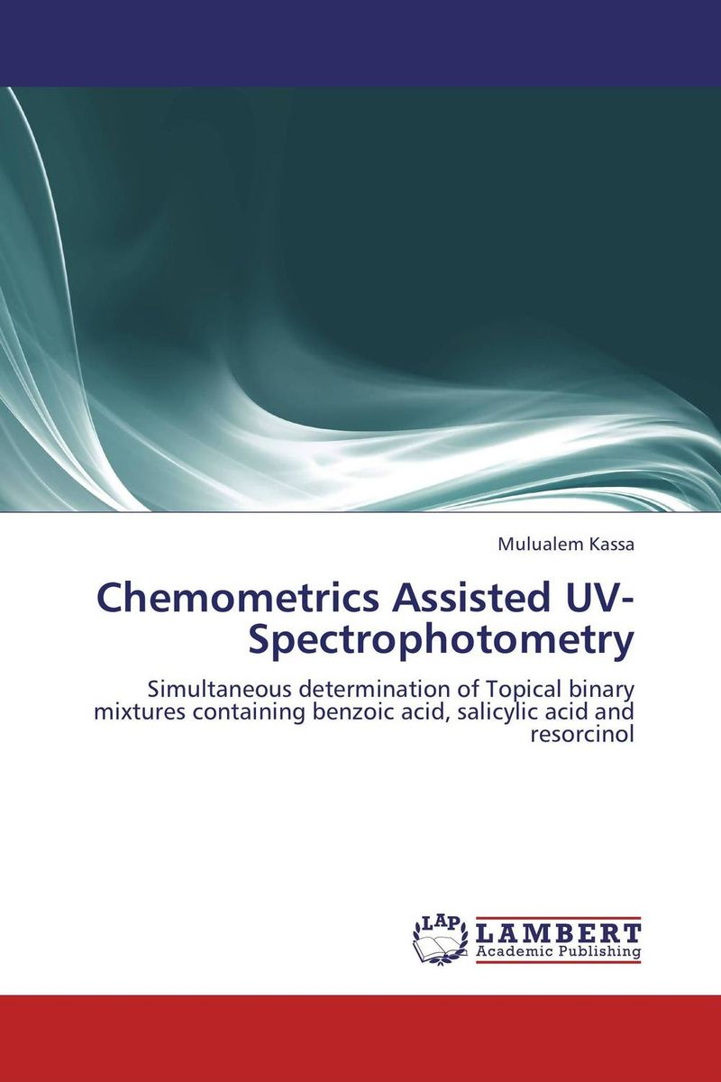 цены Chemometrics Assisted UV-Spectrophotometry