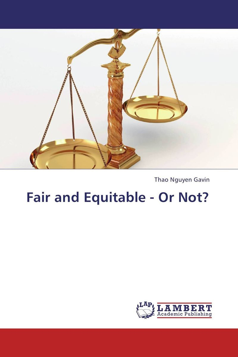 Fair and Equitable - Or Not? ewa