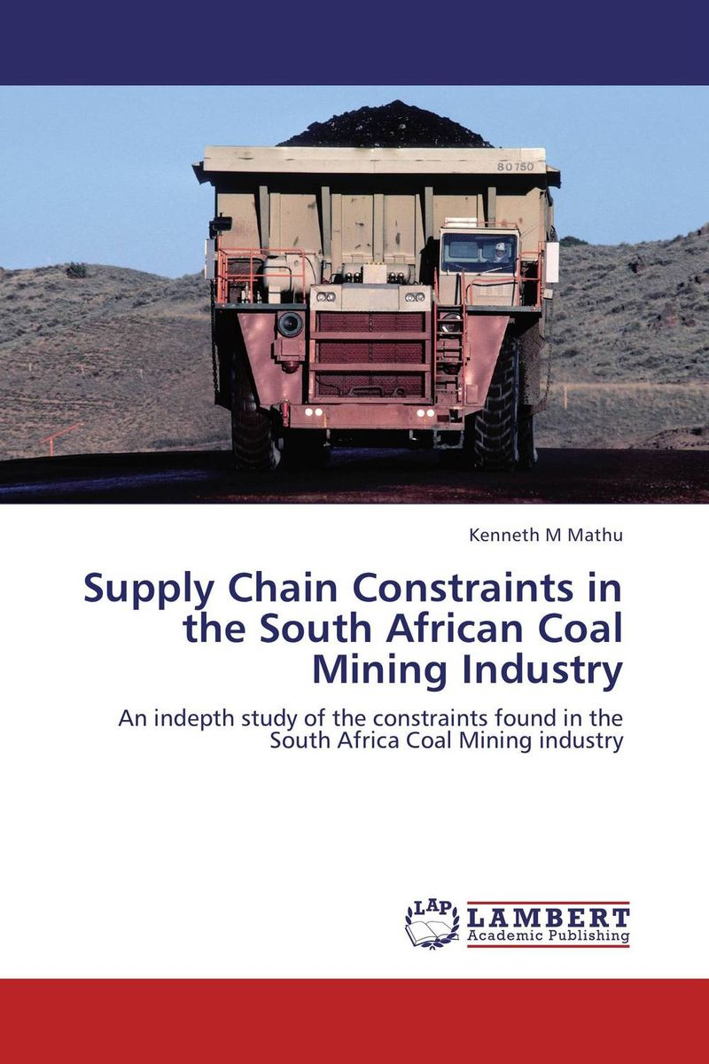 Supply Chain Constraints in the South African Coal Mining Industry coal шапка coal the logo royal blue