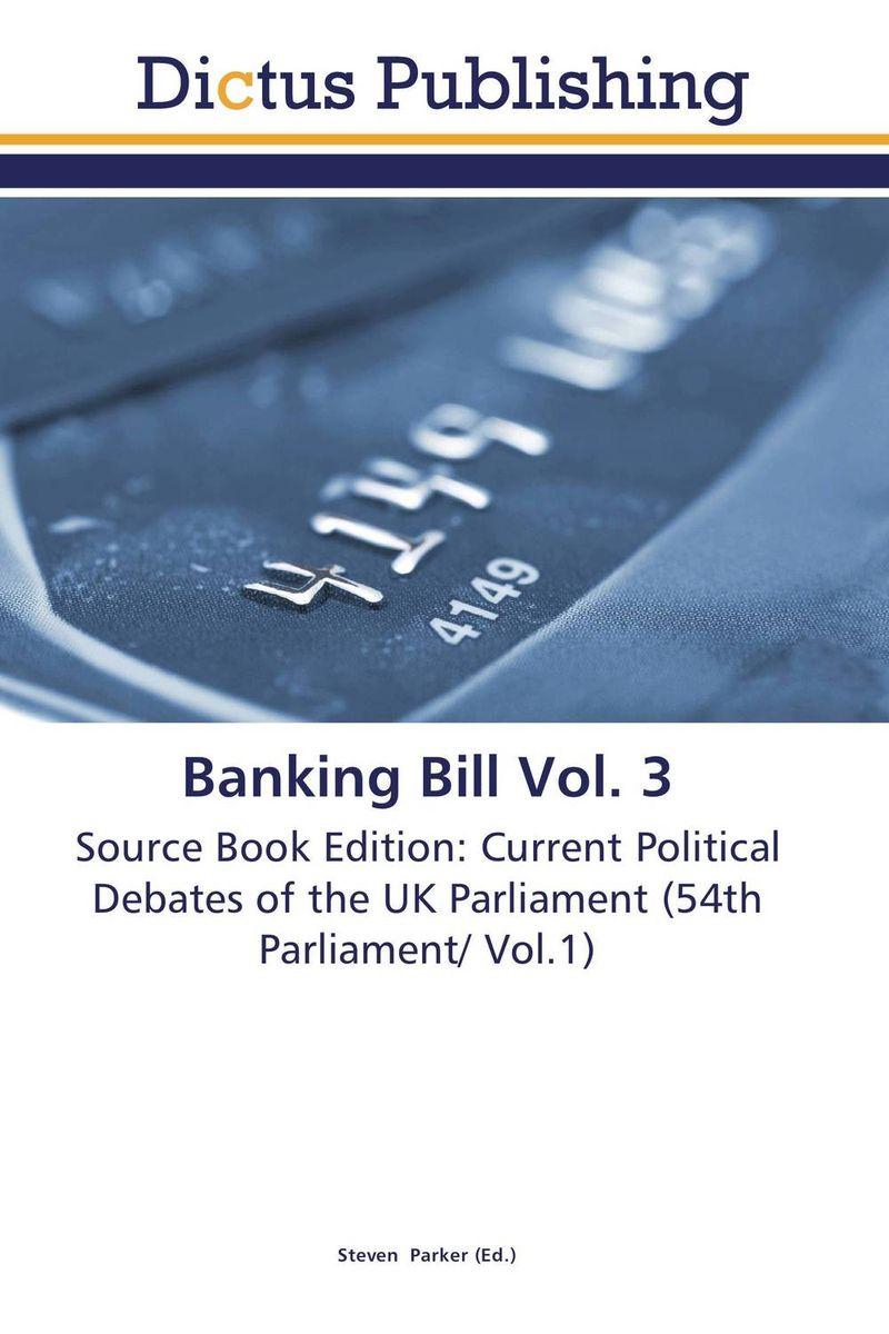 Banking Bill Vol. 3 donald turner armed forces bill vol 3