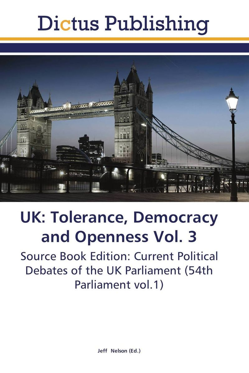 UK: Tolerance, Democracy and Openness Vol. 3 suck uk