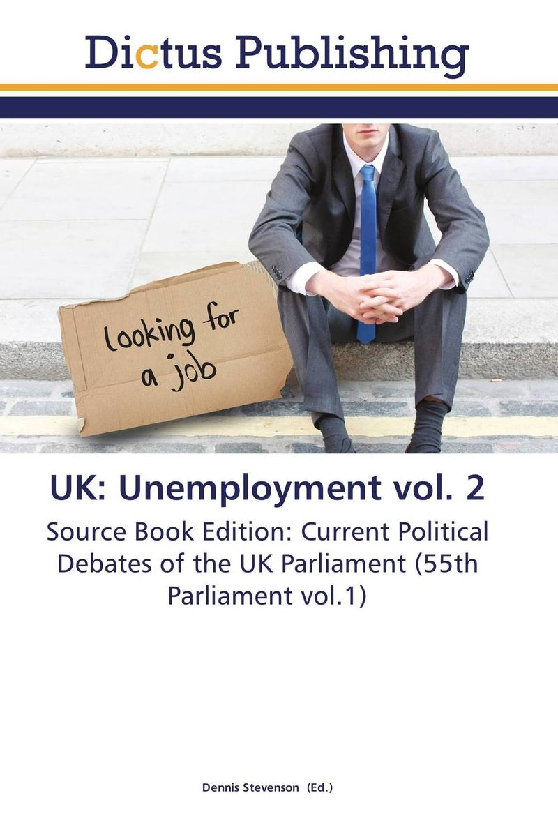 UK: Unemployment vol. 2 обувь для зала kelme обувь для зала kelme subito 5 0 55803 026