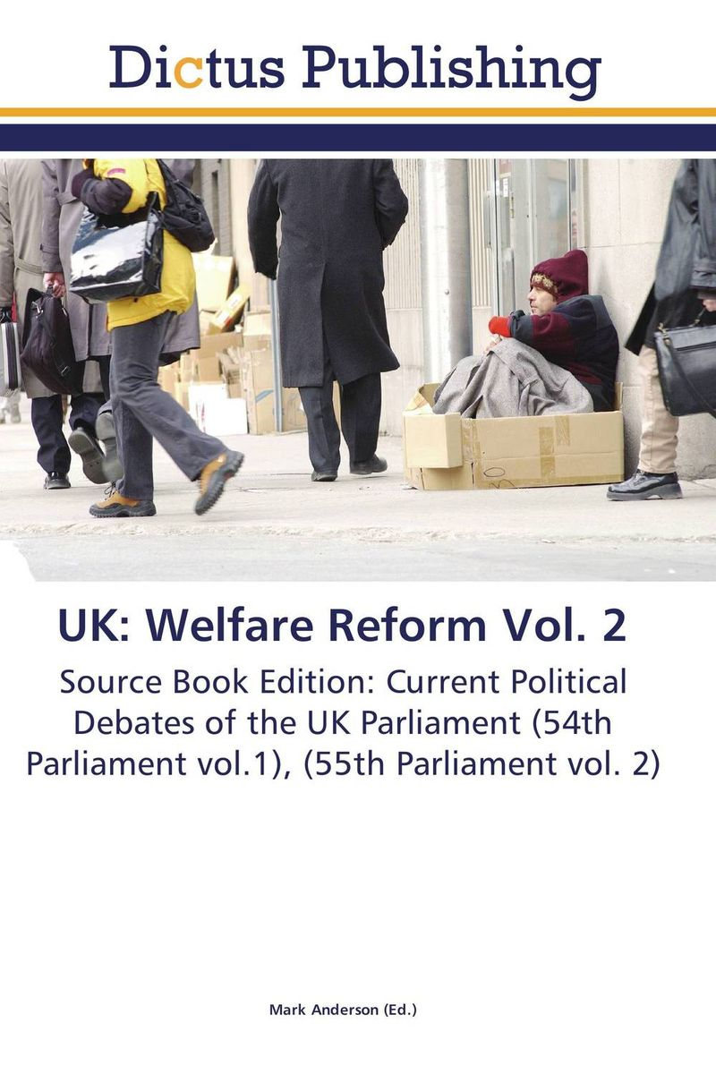 UK: Welfare Reform Vol. 2 crusade vol 3 the master of machines