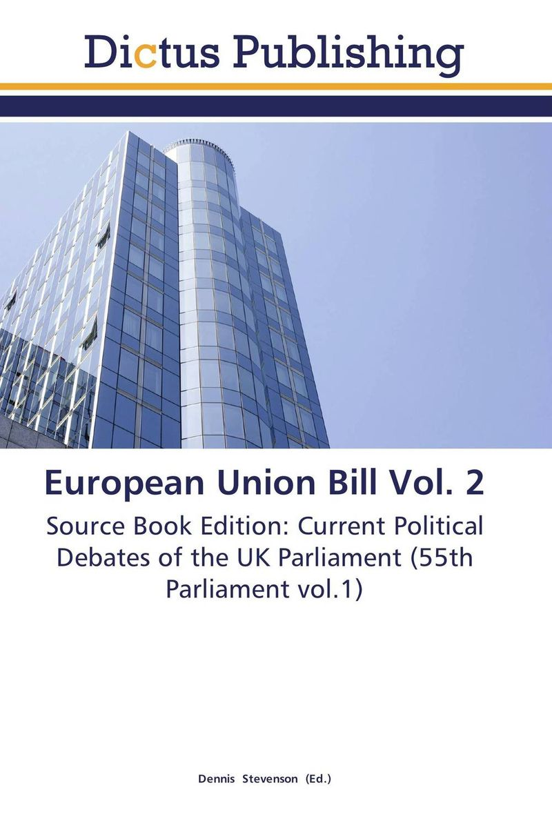 European Union Bill Vol. 2 uk unemployment vol 2
