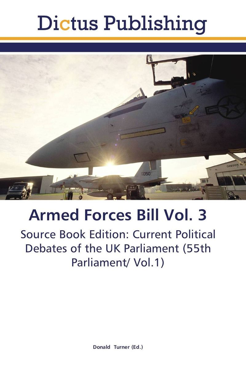 Armed Forces Bill Vol. 3 crusade vol 3 the master of machines