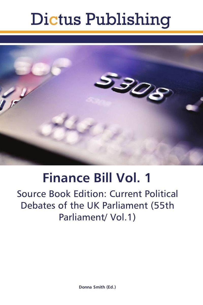 Finance Bill Vol. 1 finance no 3 bill vol 9