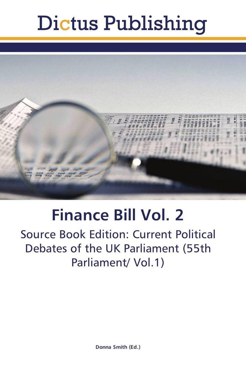 Finance Bill Vol. 2 finance no 3 bill vol 9