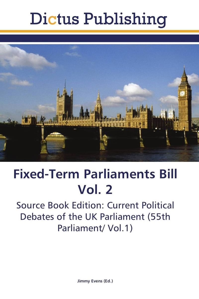 Fixed-Term Parliaments Bill Vol. 2 women s inclusion and the gender gap in parliaments