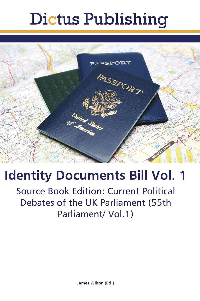 Identity Documents Bill Vol. 1 crusade vol 3 the master of machines