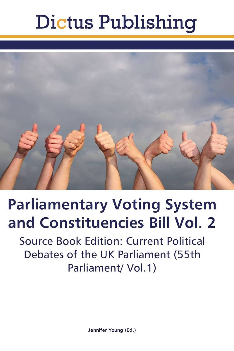 Parliamentary Voting System and Constituencies Bill Vol. 2 identity documents bill vol 2