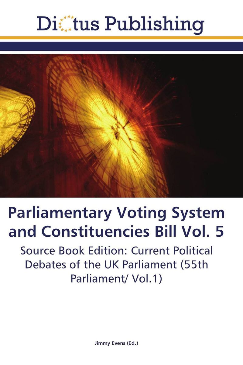 Parliamentary Voting System and Constituencies Bill Vol. 5 identity documents bill vol 2
