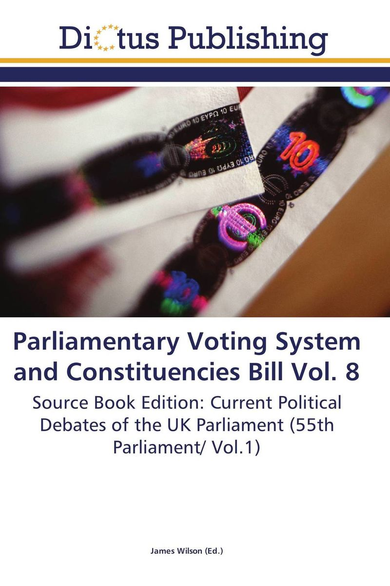 Parliamentary Voting System and Constituencies Bill Vol. 8 identity documents bill vol 2