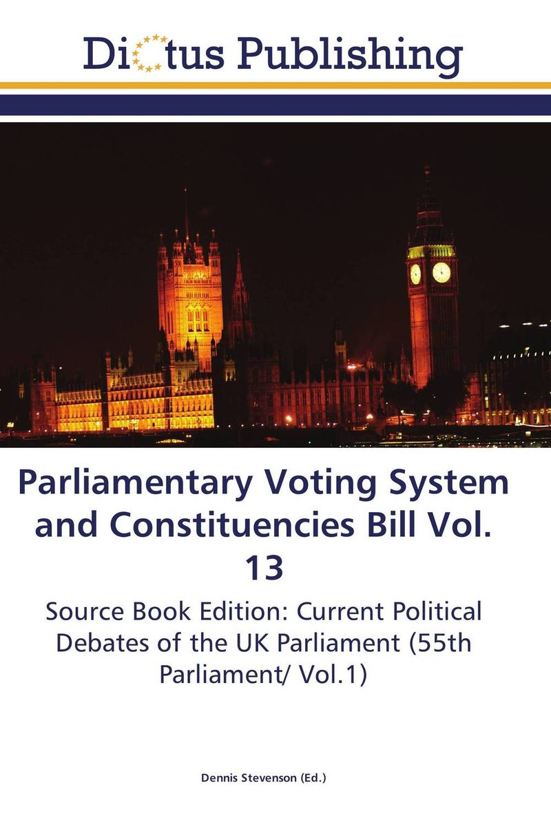 Parliamentary Voting System and Constituencies Bill Vol. 13 identity documents bill vol 2
