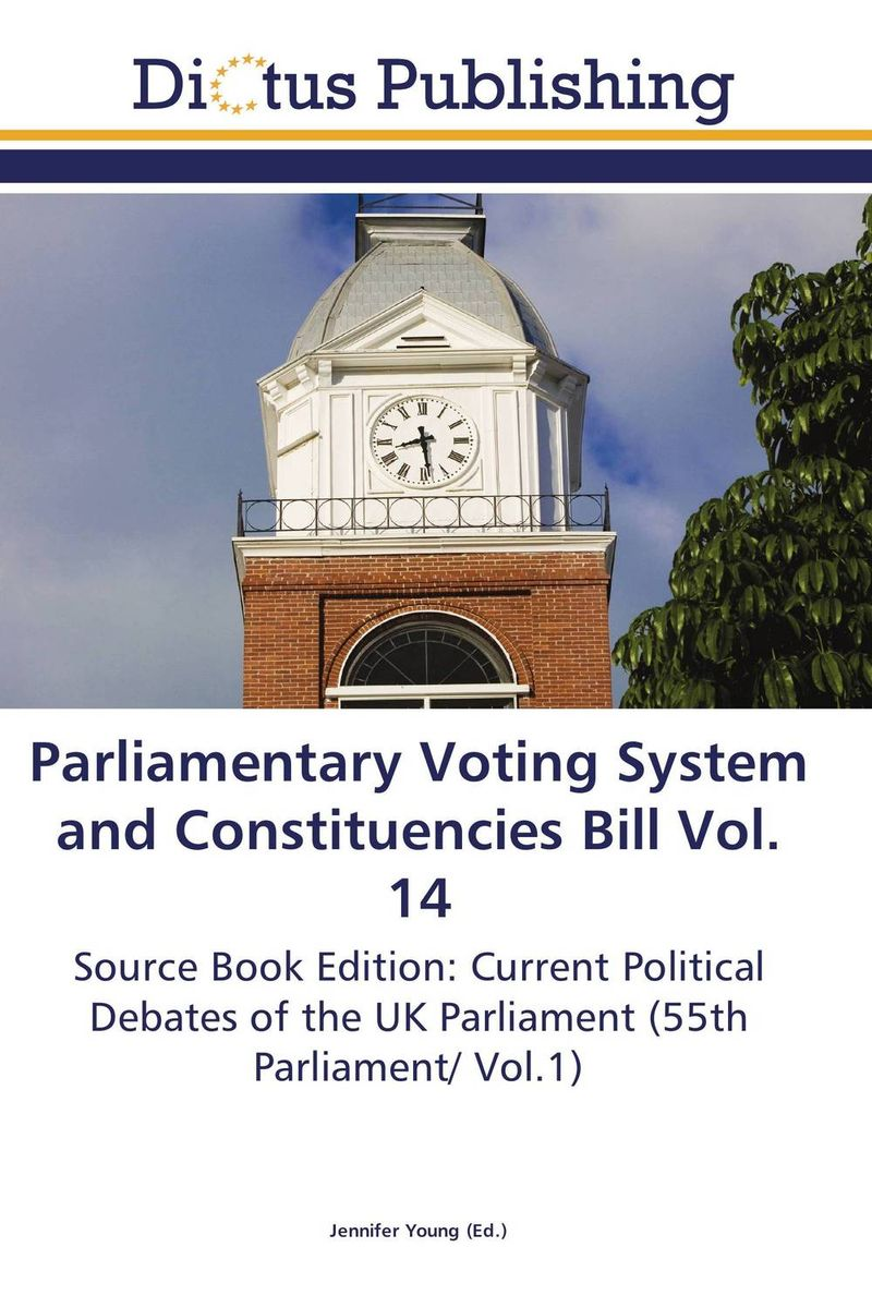 Parliamentary Voting System and Constituencies Bill Vol. 14 crusade vol 3 the master of machines
