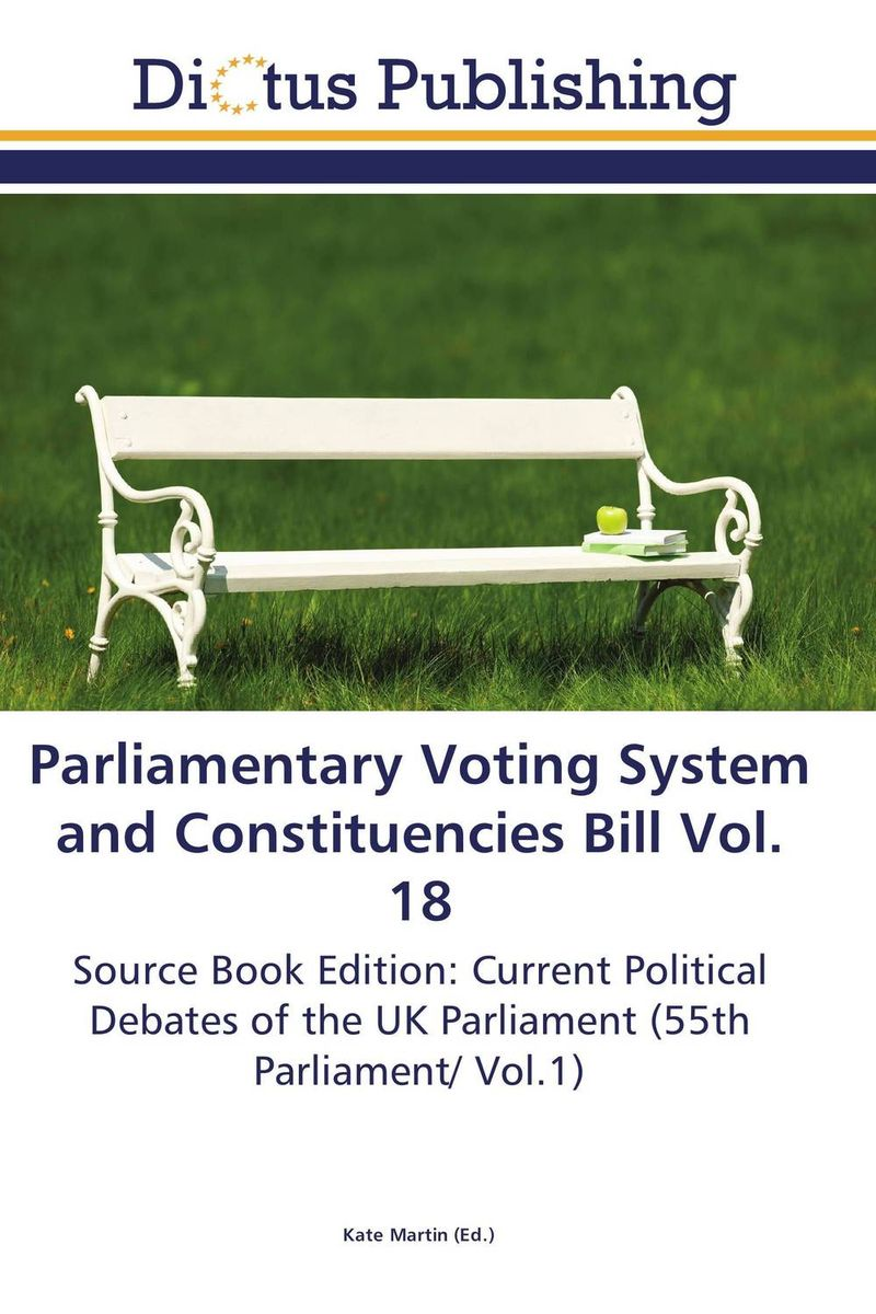 Parliamentary Voting System and Constituencies Bill Vol. 18 identity documents bill vol 2