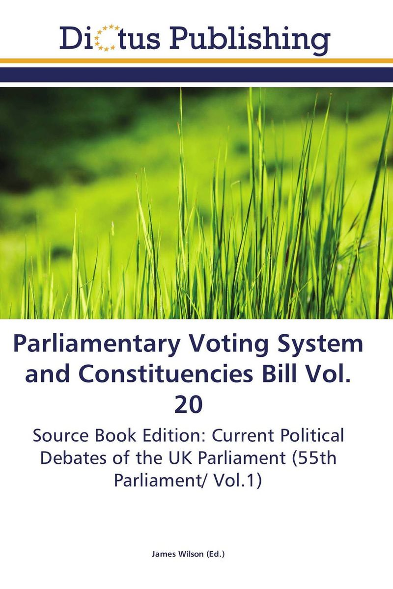 Parliamentary Voting System and Constituencies Bill Vol. 20 identity documents bill vol 2