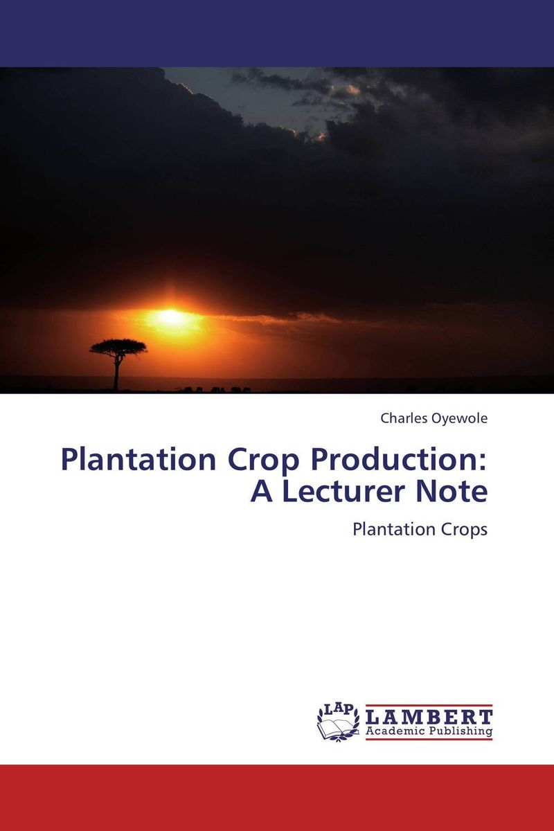 Plantation Crop Production: A Lecturer Note some thoughts on the common toad