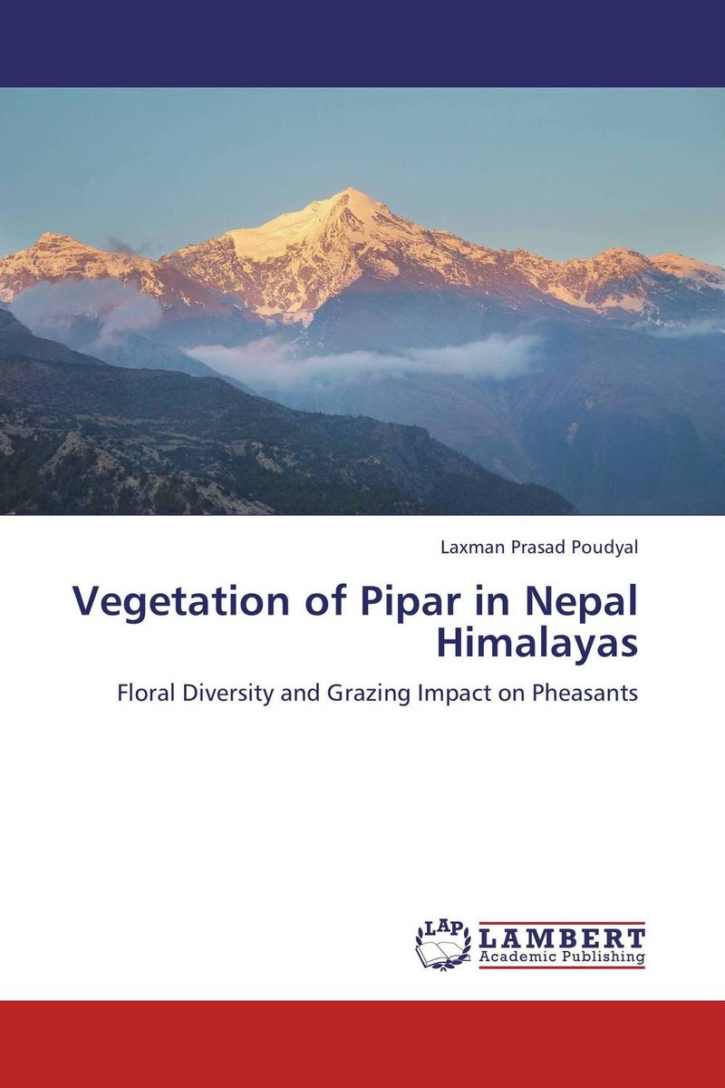 Vegetation of Pipar in Nepal Himalayas vegetation ecology in nnp