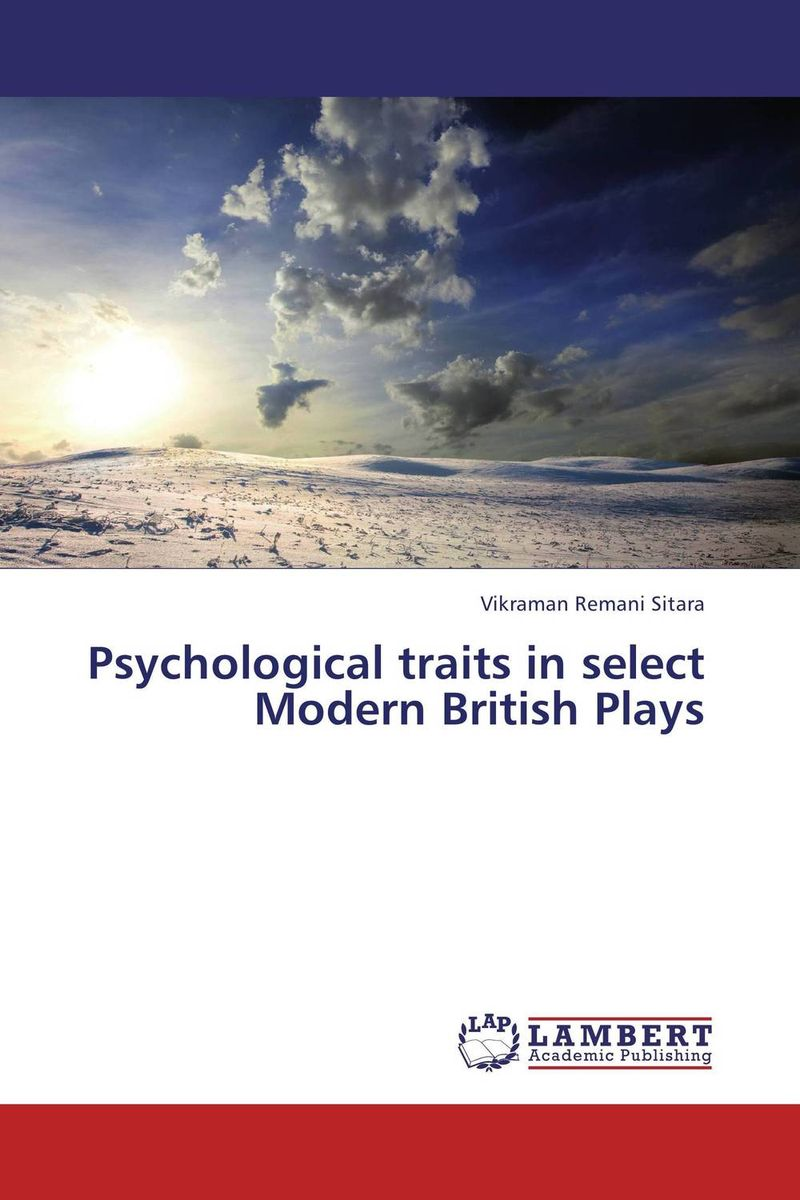 Psychological traits in select Modern British Plays виниловые обои limonta sonetto 73321