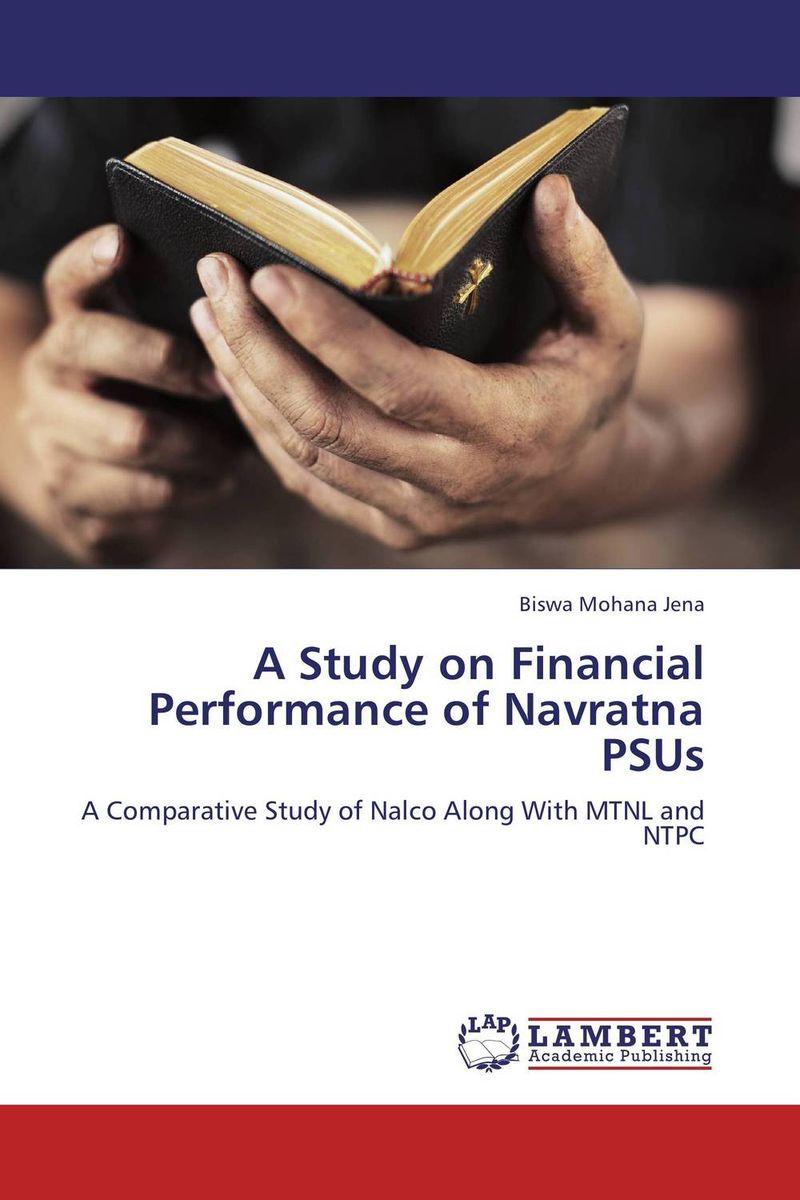 купить A Study on Financial Performance of Navratna PSUs недорого